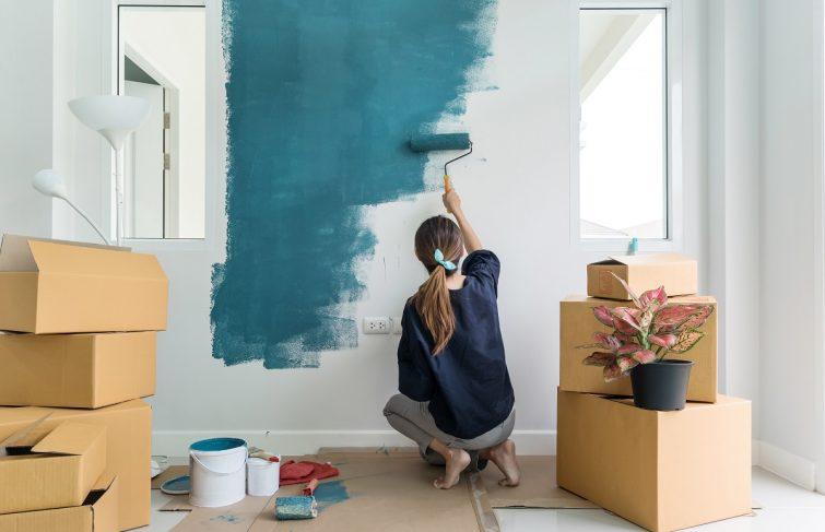 Devis Peinture à Saint-Étienne ▷ Prix au m2 : Maison, Appartement, Studio